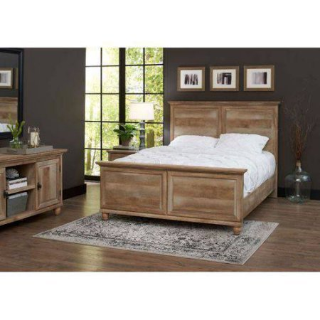 Better Homes and Gardens Crossmill Queen Bed, Weathered Finish from Better Homes & Gardens