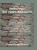 img - for Astrology: 30 Years Research book / textbook / text book