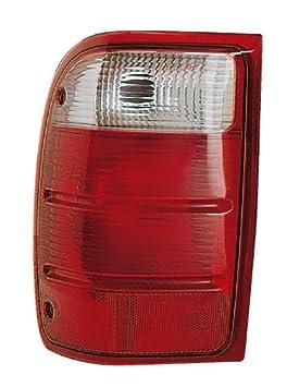 Eagle Eyes FR322-U000L Ford Driver Side Rear Lamp Lens and Housing FO2800156V rm-EGL-FR322-U000L