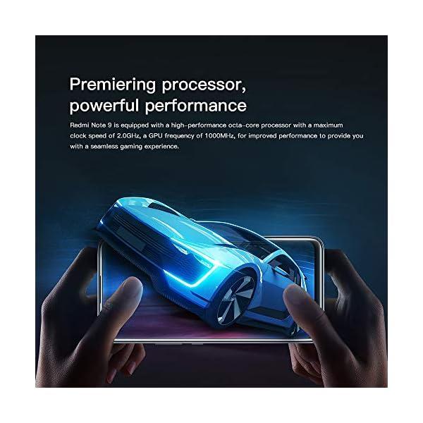 """Xiaomi Redmi Note 9 Teléfono 4GB RAM + 128GB ROM, 6.53"""" Pantalla Completa, MTK Helio G85 Procesador Octa-Core, 13MP…"""
