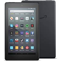 "All-new Fire 7 Tablet | 7"" display, 16 GB, Black with Special Offers"