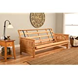 Phoenix Futon Sofa Frame in Natural Finish