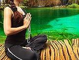 Premium Mala Beads Long Necklace - Stunning White Howlite Mala Meditation Bracelet for Men & Women