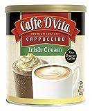 instant irish coffee - Caffe D'Vita Irish Cream Instant Cappuccino Mix 16 Ounces (Pack of 6)