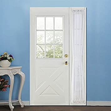 RHF Sidelight panel curtains - 30W by 72L Inches - Side lights front door curtain - & Amazon.com: RHF Sidelight panel curtains - 30W by 72L Inches ... Pezcame.Com