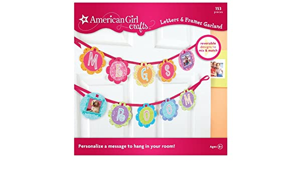 American Girl Crafts Bedroom Personalized Banner Decoration For