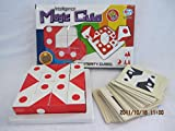Intelligent Magic Cube Puzzle Memory Game 16 Cubic Blocks, Each-With 6 Sides with Different Shapes And 60 Challenging Play cards Included - Compare to Qbitz Solo - Greet Game for Children