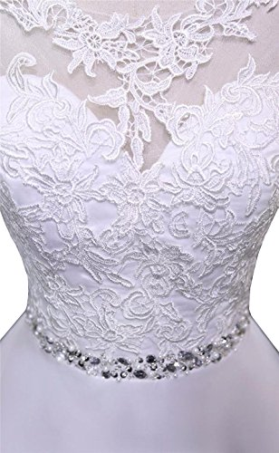 Train Lace Ball Long Gown Women's Tulle Dresses Wedding Ivory Yinyyinhs With 5xwzqY7w