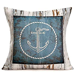 5153haHDDCL._SS300_ 100+ Nautical Pillows & Nautical Pillow Covers