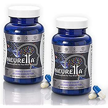 Amazon.com: 2X Neurella Extra Strength Brain Supplement