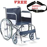 Viva Healthcare Spoke Wheel Regular Foldable Self Drive Wheel Chair