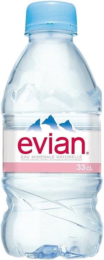 Agua mineral natural Evian 33 cl: Amazon.es: Alimentación y bebidas