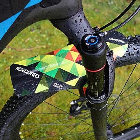 MTB Mudguard Set Mountain Bike Bicycle Fender Front /& Rear RideGuard UK Geo Blue