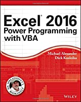 Excel 2016 Power Programming with VBA Front Cover