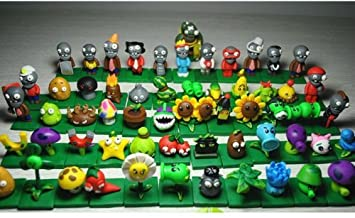 The Most Complete Plants Vs  Zombies Q Version Doll Toys -A Full Set
