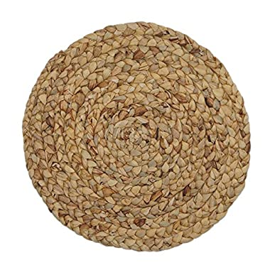 Creative Dining Group Water Hyacinth Braided Natural Placemat, 15