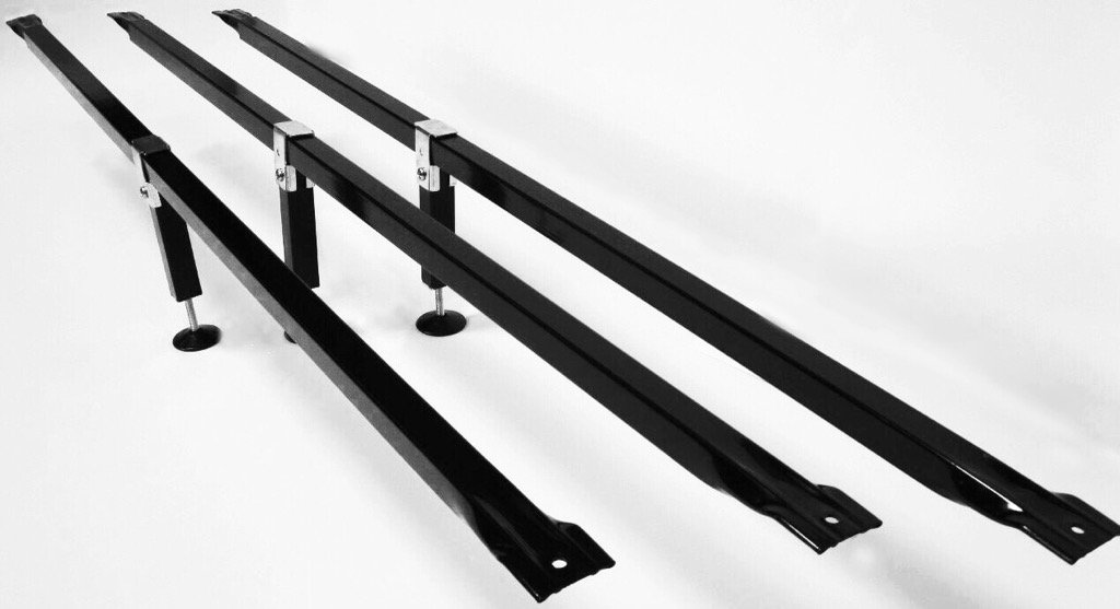 B H Panel Company Bed Frame Supports – Powder Coated Steel Made in The U.S.A with American Steel