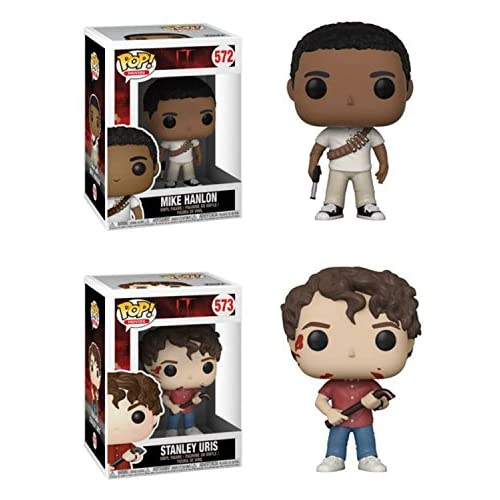 FunkoPOP IT: Mike Hanlon + Stanley Uris – Stylized Horror Vinyl Figure Bundle Set NEW