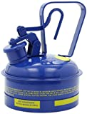 Eagle UI-50-SB Type I Metal Safety Can, Kerosene, 12-1/2'' Width x 13-1/2'' Depth, 5 Gallon Capacity, Blue