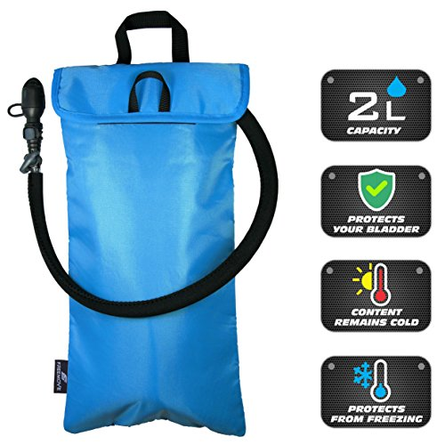 FREEMOVE Cooler Bag & Protective Sleeve 2in1 for Hydration Water Bladder up to 2L | KEEPS WATER COOL & PROTECTS YOUR BLADDER | Lightweight & Water Resistant | Fits to all - BLADDER IS NOT INCLUDED! by FREEMOVE