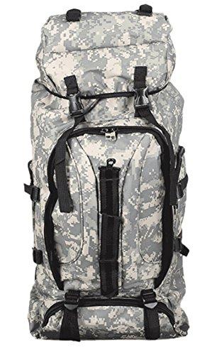 75L Sport Outdoor Military Rucksacks Tactical Molle Backpack Camping Hiking Trekking Bag