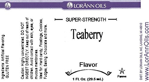LorAnn Super Strength Teaberry Flavor, 4 Ounce by LorAnn Oils (Image #1)
