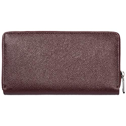 purse genuine card wallet bordeaux leather men's holder case coin amp;Gabbana Dolce tqwO88