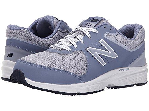 (ニューバランス) New Balance レディースウォーキングシューズ?靴 WW411v2 Grey 10 (27cm) B - Medium