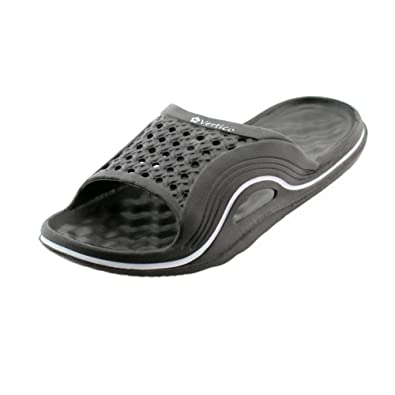 1df49743a45d Vertico Slide-on Women s Shower and Poolside Sandal (5 6