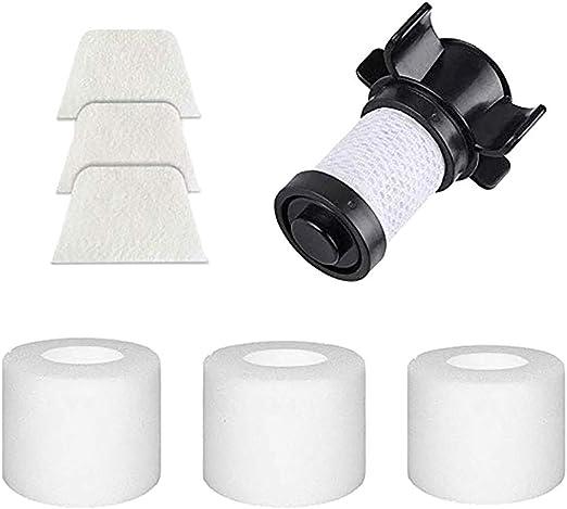 Sansee - 3 filtros de algodón + 3 filtros + 1 Filtro de Repuesto ...