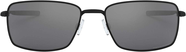 Oakley mens Oo4075 Square Wire Rectangular Metal Sunglasses Rectangular Sunglasses