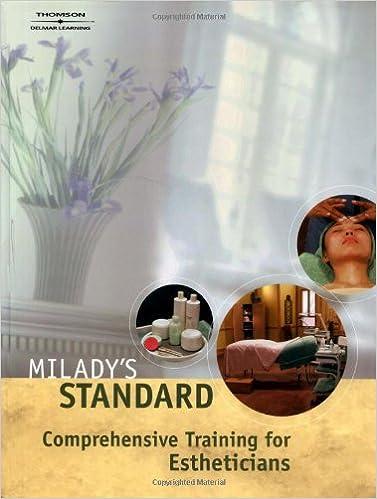 Miladys standard comprehensive training for estheticians milady miladys standard comprehensive training for estheticians 1st edition fandeluxe Gallery