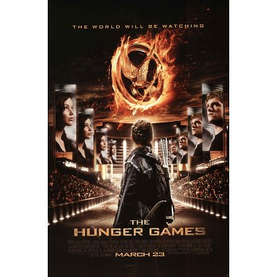 The Hunger Games Movie Poster Print