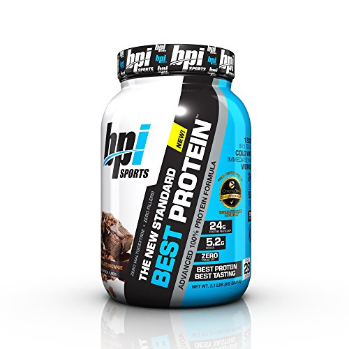 BPI Sports Best Protein Advanced 100% Protein Formula, Chocolate Brownie, 2.1 Pounds
