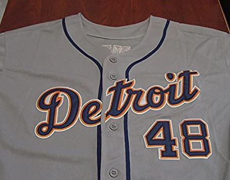 380fc559c7c ... anaheim 48 torii hunter authentic cool base gray jersey. 98.00 31.98  ... torii hunter detroit tigers autographed grey 48 jersey size 48 jsa coa  at . ...