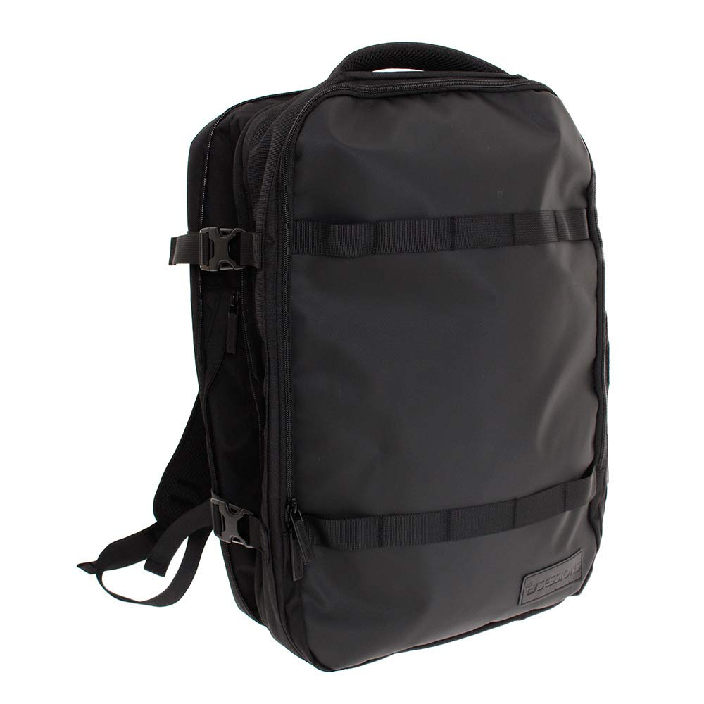SESSIONS(SESSIONS) TECH TRAVEL BACKPACK 198074 BLK F ブラック B07QXYBX1W