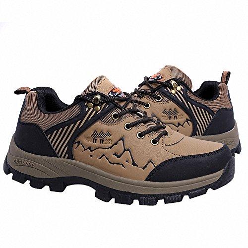 Ben Sports Mens Cool Trail Mountain Hiking Shoes Brown Rw4c9