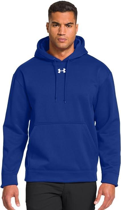 New Men/'s Under Armour UA Storm Armour Fleece Hoodie Grey Fuschia M L XL