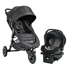 The Baby Jogger Travel System pairs City Mini GT with the City Go infant car seat to securely bring baby along for all of your adventures, from day one; The car seat can be easily and securely installed with or without the base, so you can ea...