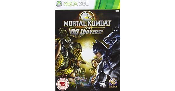 Mortal Kombat Vs DC Universe (Xbox 360) [Importación inglesa ...