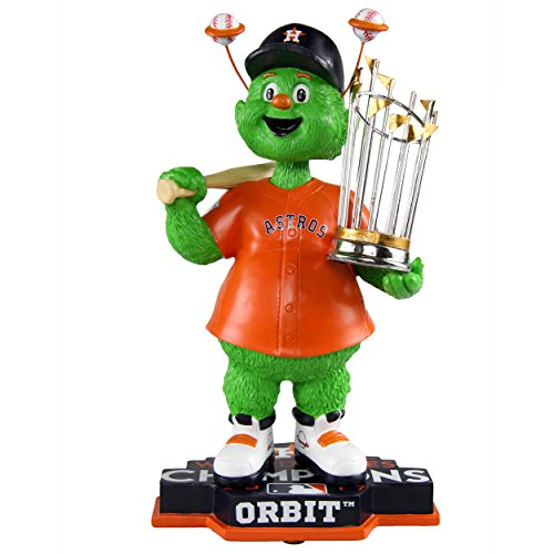 FOCO Orbit Houston Astros 2017 World Series Orange Jersey Special Edition Bobblehead