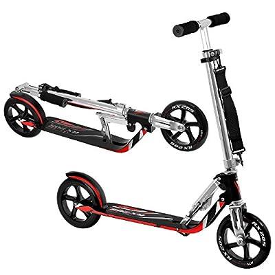 Vokul® VK-205 Adult Premium Pro Scooter Folding Fitness Kick Large Wheels
