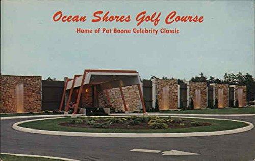 Ocean Shores Golf Course Ocean Shores, Washington Original Vintage Postcard