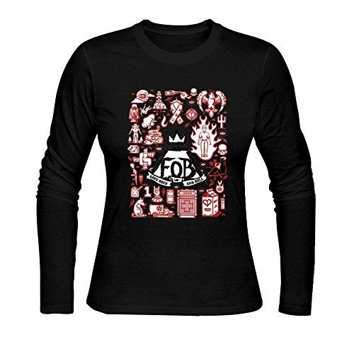 Diy Fall Out Boy Women's Tshirt Long Sleeve by Fangbai Liu M (Fallout Diy)