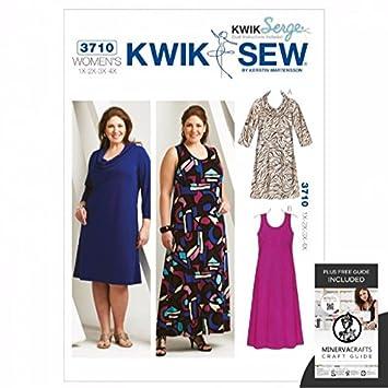 Kwik Sew Damen Schnittmuster 3710 – Kleid (O/S): Amazon.de: Küche ...