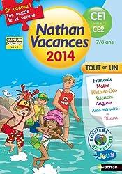 Nathan vacances primaire - Du CE1 vers le CE2