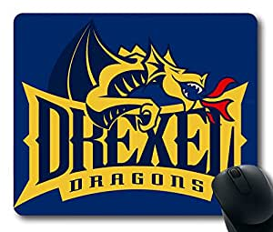 Custom Gaming Mouse Pad with Drexel Dragons01 Non-Slip Neoprene Rubber Standard Size 9 Inch(220mm) X 7 Inch(180mm) X 1/8(3mm) Desktop Mousepad Laptop Mousepads Comfortable Computer Mouse Mat