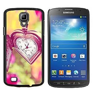 Caucho caso de Shell duro de la cubierta de accesorios de protección BY RAYDREAMMM - Samsung Galaxy S4 Active i9295 - amor el tiempo no espera viñeta verano profunda
