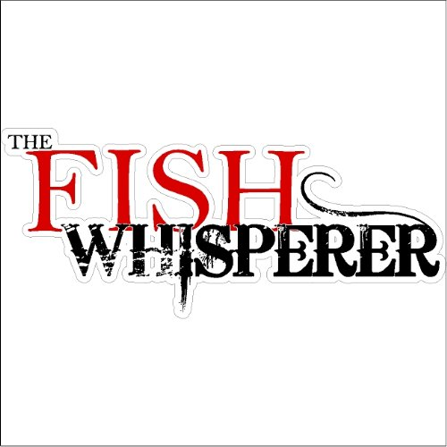 The Fish Whisperer....Funny Fishing Decal Boat Car Truck Removable Fishing Sticker made our list of Unique Camping Gifts For Men (6