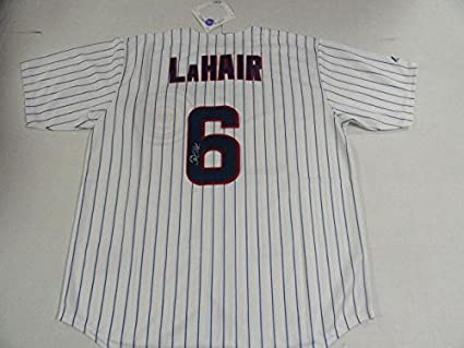 new product fdf4c b0d30 Bryan LaHair Signed Jersey - #6 Chicago Cubs Licensed All ...